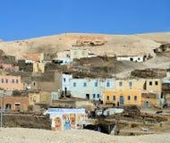 Villaggio egiziano Immagine Stock
