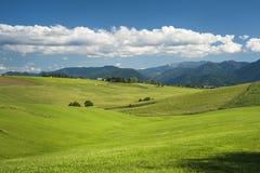 Villaggio in estate Immagini Stock Libere da Diritti