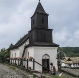 Villaggio etnografico di Holloko Ungheria Europa Fotografie Stock Libere da Diritti