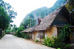 Villaggio filippino Fotografia Stock