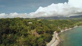 Villaggio filippino vicino alla costa video d archivio