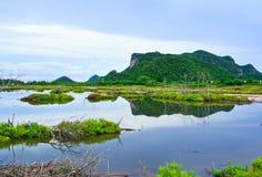 Villaggio fra la natura Immagine Stock