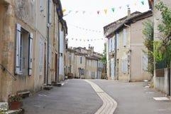 Villaggio francese Immagine Stock