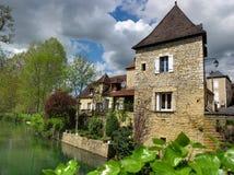 Villaggio francese fotografia stock