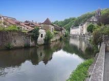 Villaggio francese Fotografie Stock