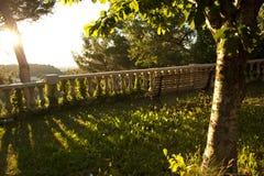 Villaggio in Francia Fotografia Stock