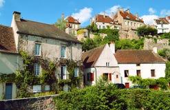 Villaggio in Francia Fotografie Stock Libere da Diritti