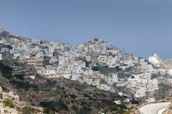 Villaggio greco Immagini Stock Libere da Diritti