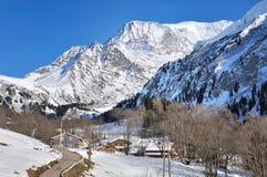 Villaggio in Haute Savoie Fotografia Stock Libera da Diritti