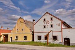 Villaggio Holasovice dell'Unesco immagini stock libere da diritti