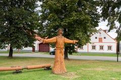 Villaggio Holasovice dell'Unesco immagine stock