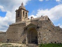 Villaggio Huesca l'Aragona Spagna di Abizanda Fotografia Stock