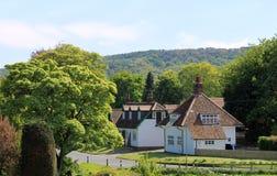 Villaggio inglese Fotografia Stock