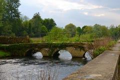 Villaggio inglese Fotografie Stock