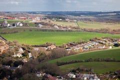 Villaggio inglese in Dorset Inghilterra Immagine Stock Libera da Diritti