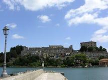 Villaggio italiano immagini stock libere da diritti
