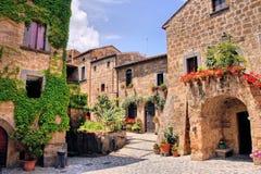 Villaggio italiano Fotografia Stock Libera da Diritti