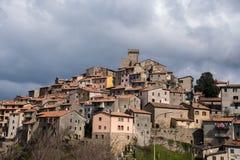 Villaggio italiano antico Immagini Stock