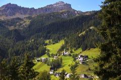 Villaggio italiano tipico Fotografia Stock