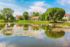 Villaggio Kabile, Lettonia Immagini Stock Libere da Diritti