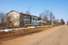 Villaggio Klushino di Rusian Immagine Stock