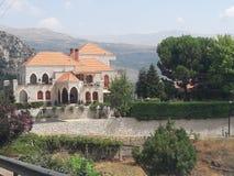 Villaggio Libano Fotografie Stock