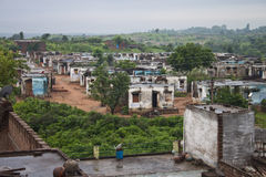 Villaggio in Madhya Pradesh Fotografia Stock Libera da Diritti