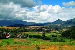 Villaggio in Maecham Fotografie Stock Libere da Diritti