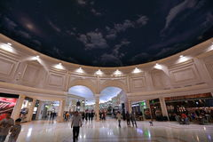 Villaggio-Mall in Doha Stockbilder