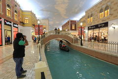 Villaggio Mall in Doha Royalty Free Stock Images