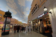 Villaggio Mall in Doha Royalty Free Stock Photo