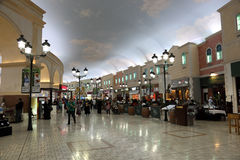 Villaggio Mall in Doha, Qatar Stock Images