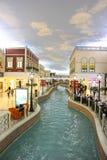 Villaggio Mall Shopping Center Royalty Free Stock Images