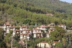 Villaggio, marmaris Fotografie Stock