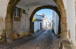 Villaggio Marvao, Portogallo Fotografia Stock Libera da Diritti