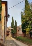 Villaggio medievale fotografia stock libera da diritti