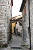 Villaggio medievale di Agnone in Italia Immagini Stock Libere da Diritti