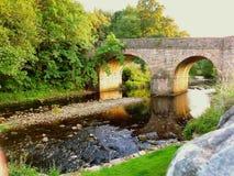 Villaggio medievale di Blanchland Immagini Stock