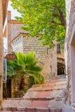 Villaggio medievale pittoresco di Eze nel sud della Francia Fotografia Stock