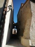 Villaggio medioevale Fotografie Stock