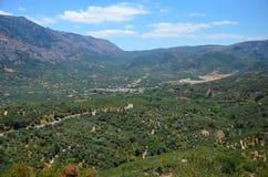 Villaggio Mohos Immagine Stock