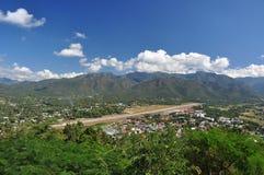 Villaggio in montagna Immagini Stock Libere da Diritti