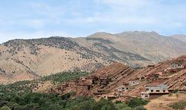 Villaggio in montagne 3 dell'atlante Fotografie Stock