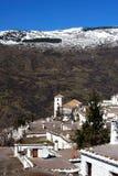 Villaggio in montagne, Bubuion, Spagna. Fotografie Stock Libere da Diritti