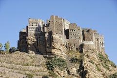 Villaggio in montagne di Haraz Fotografia Stock Libera da Diritti
