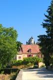 Villaggio Montfort in francese la Dordogna Fotografie Stock Libere da Diritti