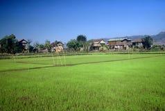 Villaggio, Myanmar Fotografia Stock