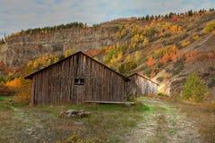 Villaggio natale in Columbia Britannica nordica immagini stock libere da diritti