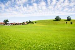 Villaggio nel Allgaeu Fotografia Stock