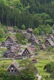 Villaggio nel Giappone Fotografia Stock Libera da Diritti